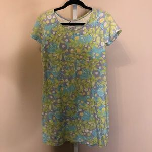 Lilly Pulitzer Beacon white label cotton dress (S)
